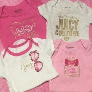 Juicy Couture onesies
